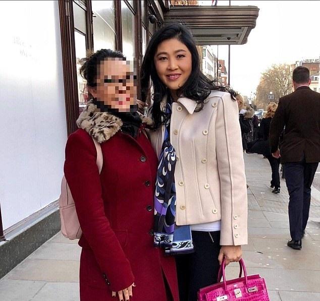 Lo anh ba Yingluck mua sam o London, Thai tich cuc dieu tra hinh anh 1