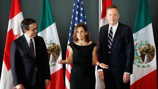 Canada: Trump se som rut My khoi NAFTA hinh anh 1