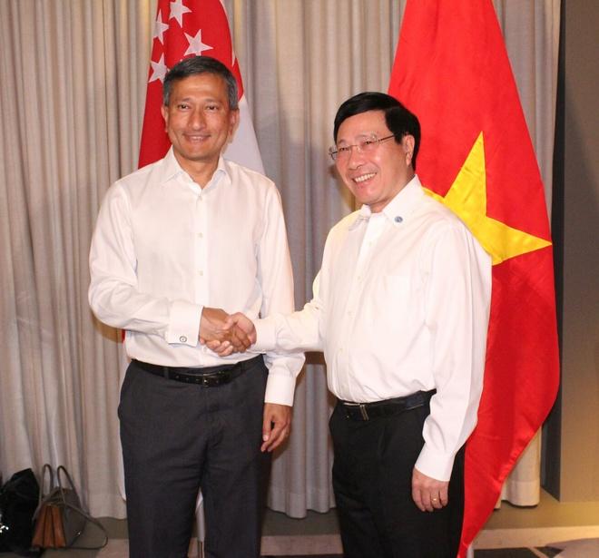 Viet Nam va Singapore thuc day dam phan thuc chat COC hinh anh 1