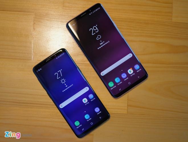 Mo hop va trai nghiem nhanh Galaxy S9+ mau tim o VN hinh anh 10