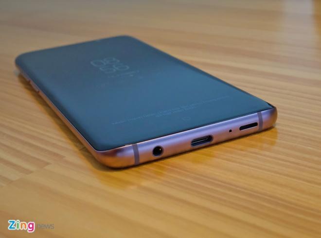 Mo hop va trai nghiem nhanh Galaxy S9+ mau tim o VN hinh anh 9