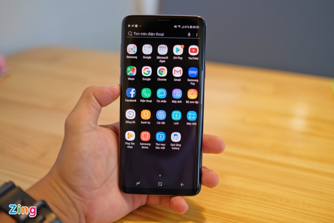 Mo hop va trai nghiem nhanh Galaxy S9+ mau tim o VN hinh anh 7