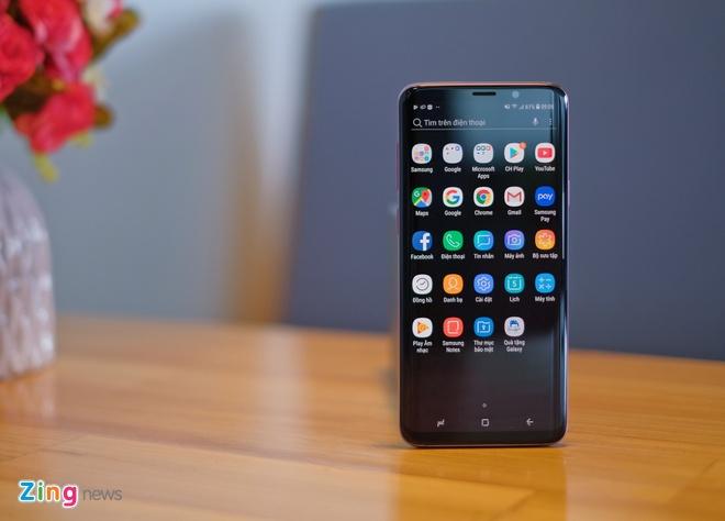 Mo hop va trai nghiem nhanh Galaxy S9+ mau tim o VN hinh anh 5