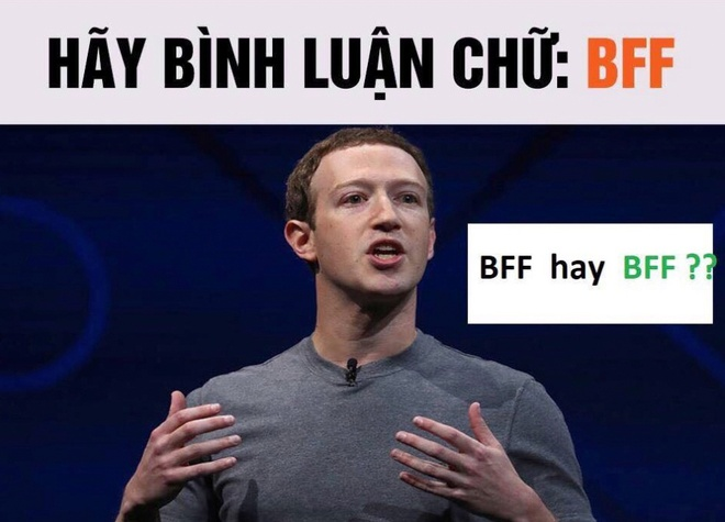 Dan mang dinh tro lua binh luan 'BFF' de xac minh Facebook hinh anh