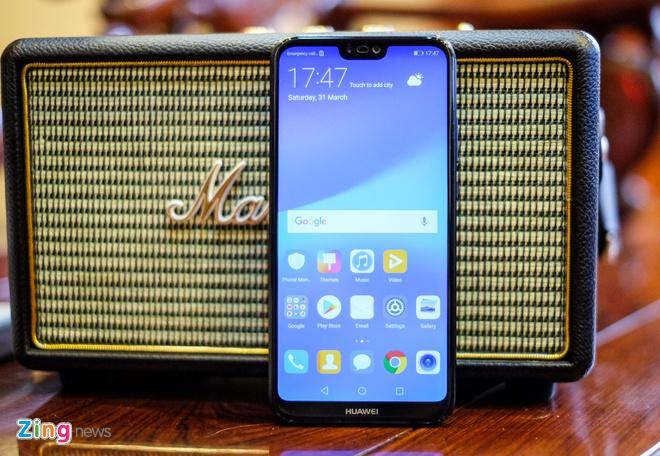 Chi tiet Huawei Nova 3e: Thiet ke tot, co camera kep va 'tai tho' hinh anh 5