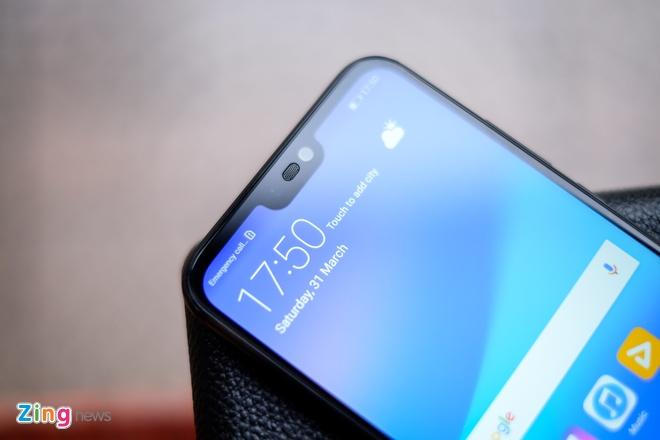Chi tiet Huawei Nova 3e: Thiet ke tot, co camera kep va 'tai tho' hinh anh 6