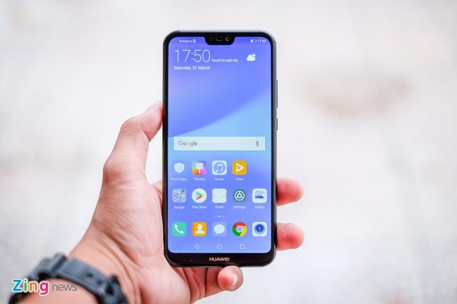 Chi tiet Huawei Nova 3e: Thiet ke tot, co camera kep va 'tai tho' hinh anh 8