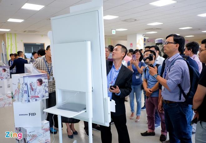 Samsung ra mat bang Flipchart dien tu 55 inch tai Viet Nam hinh anh 5