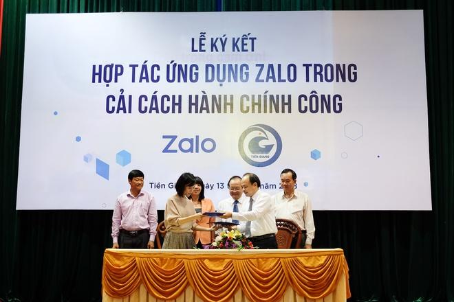 Tinh Tien Giang hop tac voi Zalo xay dung TP My Tho thong minh hinh anh 1
