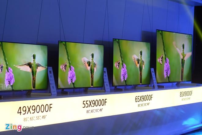Sony dem bo doi TV 4K dau bang ve Viet Nam hinh anh 7