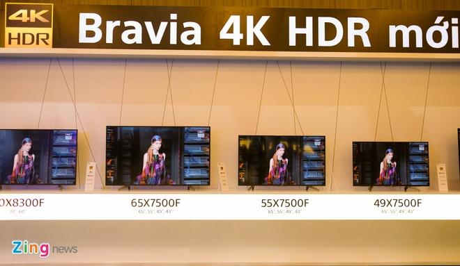 Sony dem bo doi TV 4K dau bang ve Viet Nam hinh anh 8
