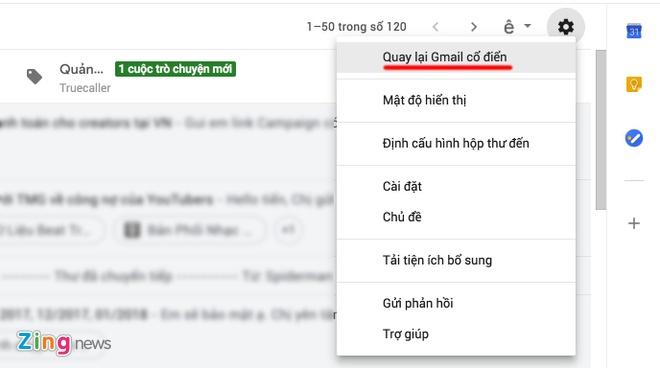 Cach chuyen doi sang giao dien Gmail moi hinh anh 3