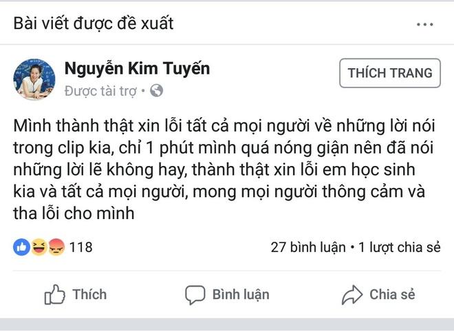 No ro Facebook gia mao co giao goi hoc sinh la 'oc lon' de truc loi hinh anh 2