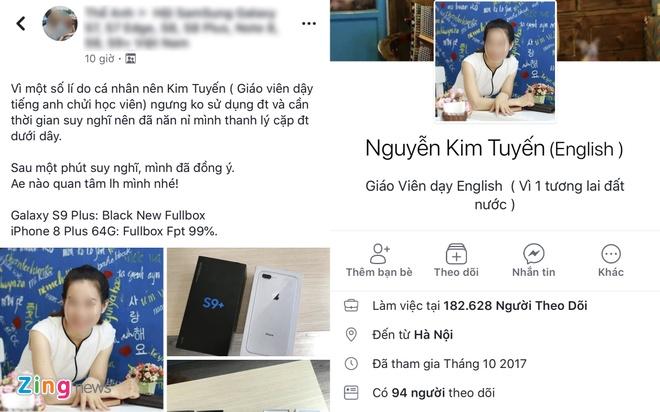 No ro Facebook gia mao co giao goi hoc sinh la 'oc lon' de truc loi hinh anh 3
