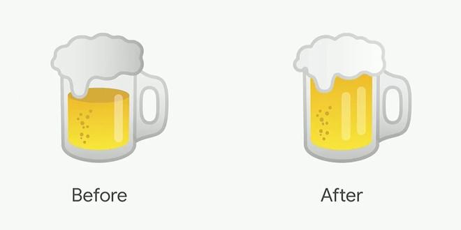 CEO Google xin loi vi thiet ke sai emoji chiec Hamburger hinh anh 2