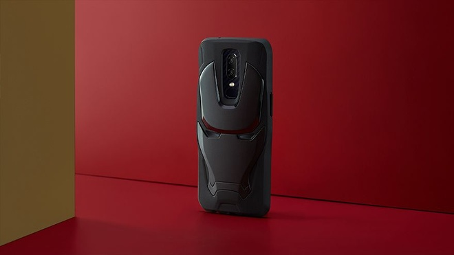 Anh OnePlus 6 phien ban Avengers op lung Ironman hinh anh 6