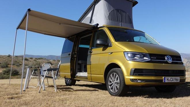 Volkswagen California T6 2018: Chiec xe nhin la muon di phuot hinh anh