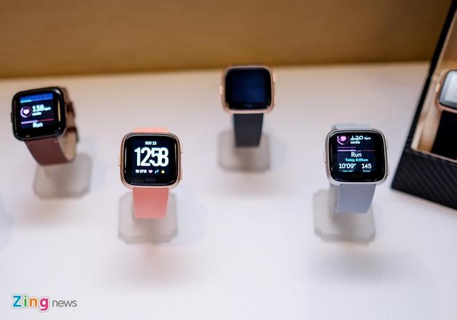 Fitbit Versa ra mat tai VN: Thoi trang, pin 4 ngay gia 5,5 trieu hinh anh 7