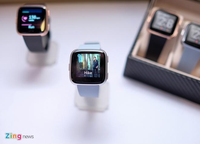 Fitbit Versa ra mat tai VN: Thoi trang, pin 4 ngay gia 5,5 trieu hinh anh 4