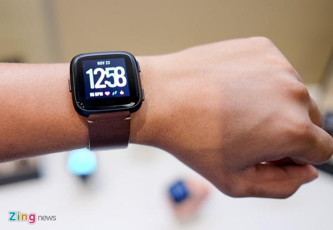 Fitbit Versa ra mat tai VN: Thoi trang, pin 4 ngay gia 5,5 trieu hinh anh 3