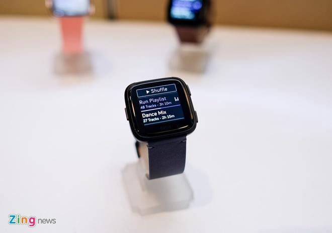 Fitbit Versa ra mat tai VN: Thoi trang, pin 4 ngay gia 5,5 trieu hinh anh 9