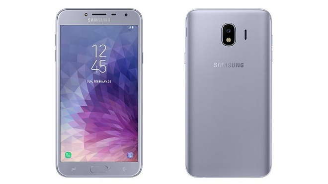 Smartphone pho thong Galaxy J4 ve VN voi gia 3,8 trieu dong hinh anh