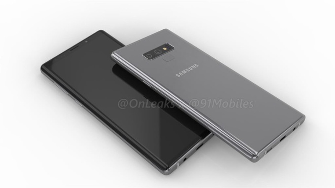 Video 360 do dau tien cua Galaxy Note 9 tu @Onleaks hinh anh