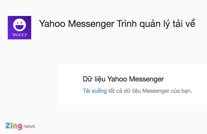 cach tai du lieu Yahoo Messenger anh 2