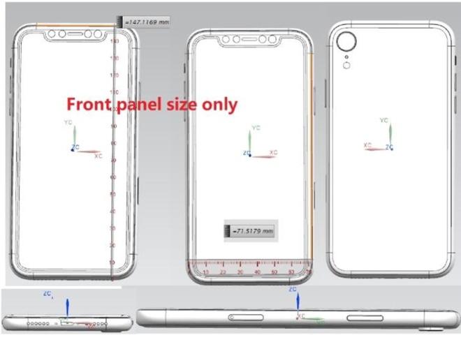 Lo ban ve thiet ke iPhone X Plus voi 3 camera sau hinh anh 2