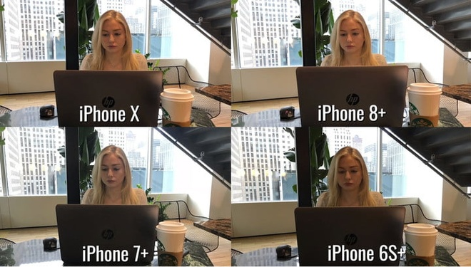Chat luong hinh anh thay doi ra sao tu thoi iPhone 6S+ den X? hinh anh 2
