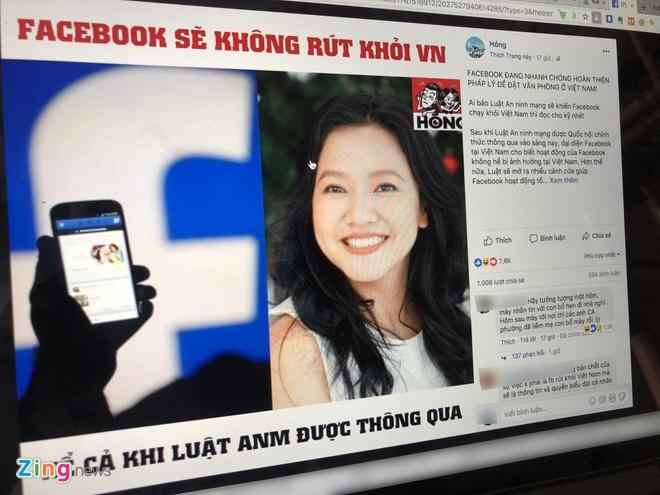 Giam doc Facebook Viet Nam cung la nan nhan cua tin gia hinh anh