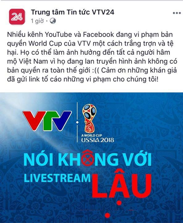 Livestream 'lau' World Cup van dien ra o VN, nguy co bi FIFA cat song hinh anh 2