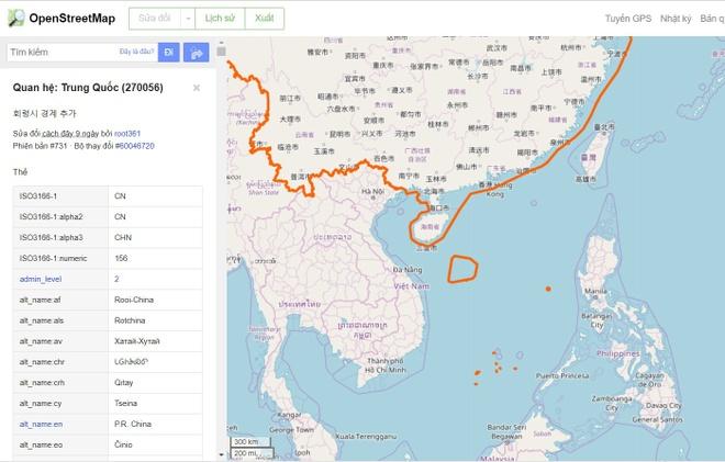 Facebook chen ban do hien Truong Sa - Hoang Sa anh 3