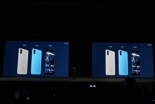 Xiaomi ra Mi A2 va A2 Lite - camera kep AI, cau hinh tot, Android One hinh anh 11