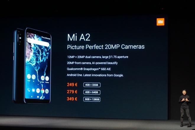 Xiaomi ra Mi A2 va A2 Lite - camera kep AI, cau hinh tot, Android One hinh anh 18