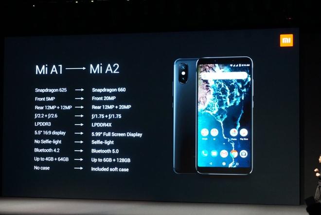 Xiaomi ra Mi A2 va A2 Lite - camera kep AI, cau hinh tot, Android One hinh anh 19