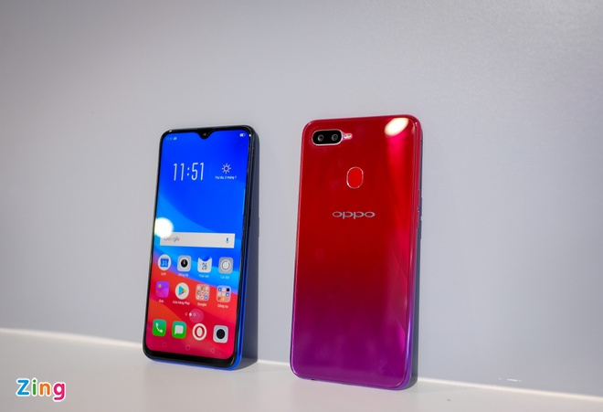 Oppo F9 ve VN - man hinh giot nuoc, camera kep gia 7,7 trieu hinh anh