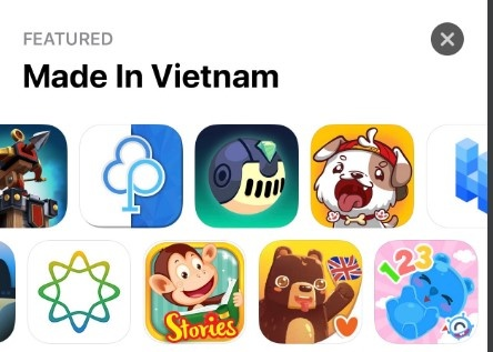App Store chao mung Quoc khanh bang danh sach ung dung VN hinh anh