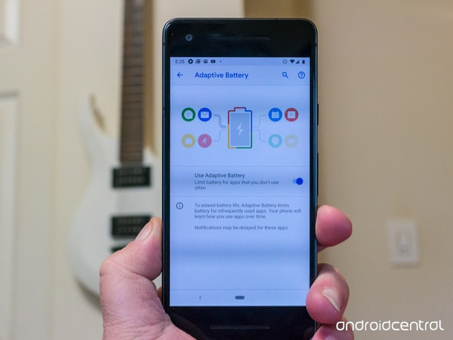 Android Pie ca thiet pin smartphone anh 1