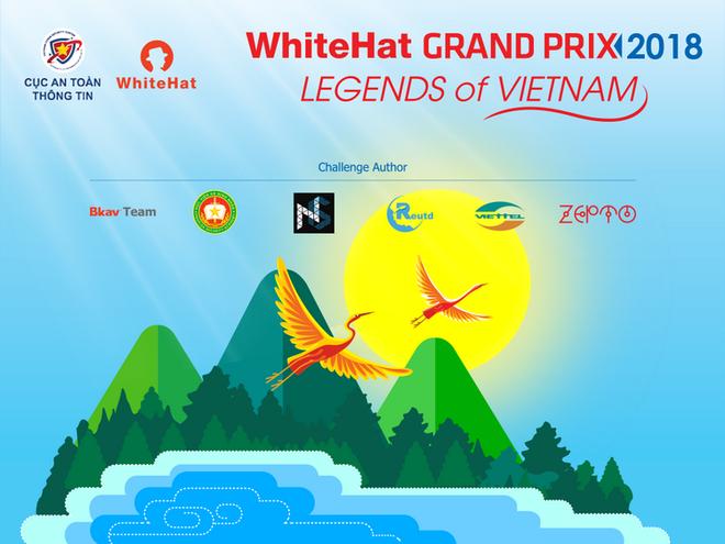 10 doi vao chung ket WhiteHat Grand Prix 2018 hinh anh 1