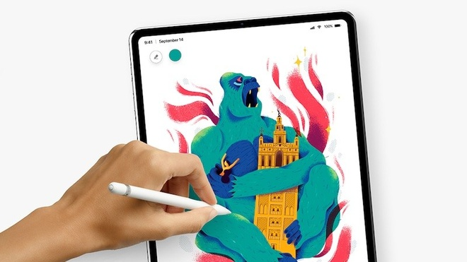 Apple se ra mat iPad Pro va may Mac moi ngay 30/10 hinh anh