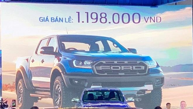 'Loi danh may' khien Ford Raptor 2018 re hon xe dap o Viet Nam hinh anh