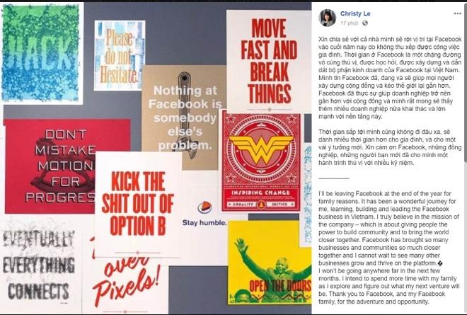 Bà Lê Diệp Kiều Trang rời vị trí Giám đốc Facebook Việt Nam Screenshot_72