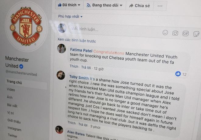 Website cua Manchester United sap sau tin Mourinho bi sa thai hinh anh 2