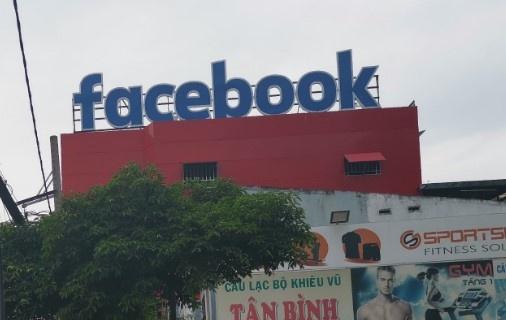 Bang hieu Facebook xuat hien o TP.HCM hinh anh