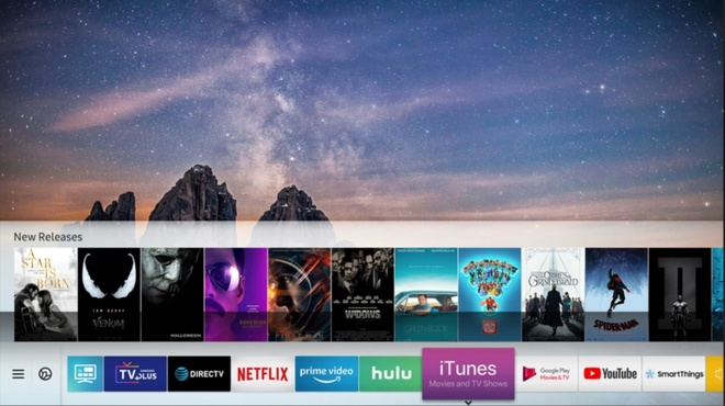 Apple bat ngo ky hop tac dua iTunes len TV Samsung hinh anh 1