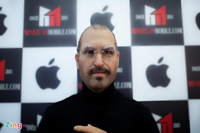 Cua hang dien thoai chi tram trieu mang tuong Steve Jobs ve VN hinh anh 1