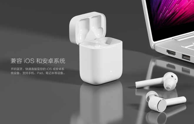 Tai nghe Xiaomi giong Airpods nhung re hon mot nua hinh anh 1
