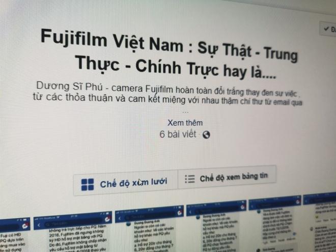Fujifilm VN bi to nguoc dai dai ly, dap gia san pham hinh anh 2
