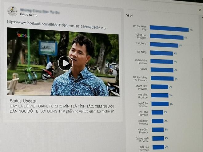 Quang cao chinh tri tung hoanh, Facebook lam ngo hinh anh